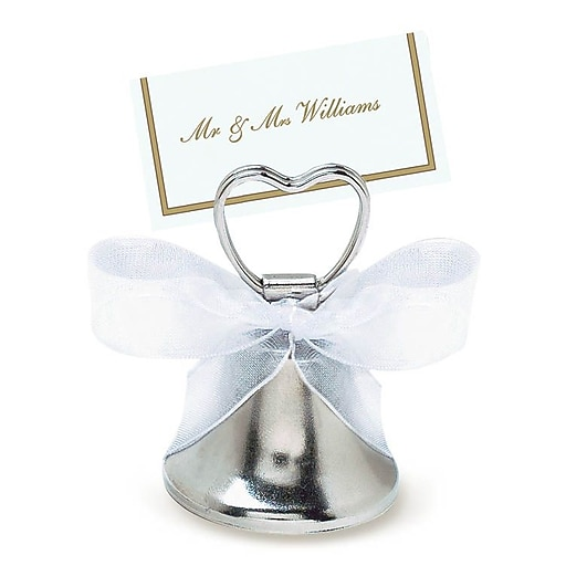 Shop Staples For Amscan Silver Bell Place Card Holder, 24
