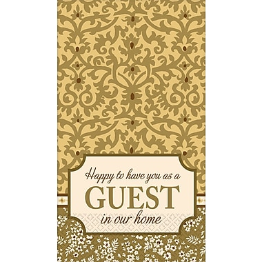 Amscan Welcome Guests Guest Towels, 7.75