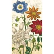 Amscan Vintage Garden Eco-Friendly Guest Towels, 7.75''L x 4.5'W', 4/Pack, 16 Per Pack (530033)
