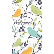 Amscan Welcome Birds 7.75'' x 4.5'' Eco-Friendly Guest Towels, 4/Pack, 16 Per Pack (530040)