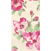 Amscan English Rose Guest Towels, 7.75'' x 4.5'', 4/Pack, 16 Per Pack (538521)
