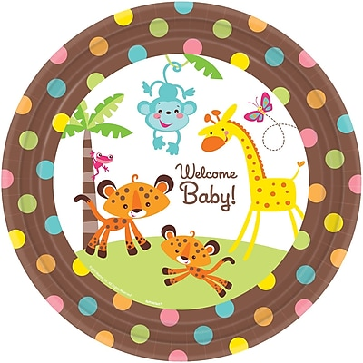 Amscan Fisher Price Baby Shower 10.5