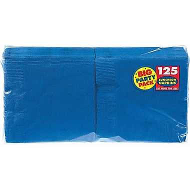 Amscan Big Party Pack Napkins, 6.5