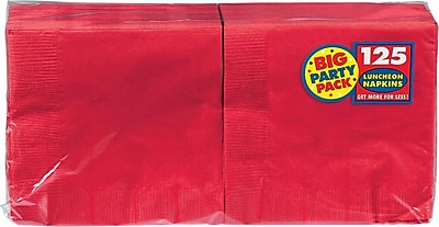 Amscan Big Party Pack Napkins, 6.5