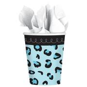 Amscan 9oz 'Sweet Safari Boy' Baby Shower Paper Cups, 4/Pack, 18 Per Pack (731132)