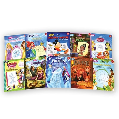 Disney Learn to Draw 10 Book Set 1974601