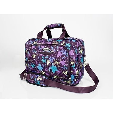 Ricardo Beverly Hills California 2.0 Deluxe Luggage Tote, Purple Print