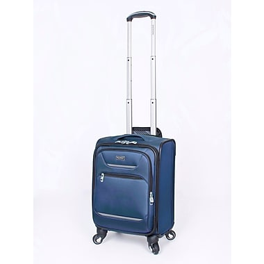 Ricardo Beverly Hills Santa Barbara Expandable 4-Wheel Spinner Luggages, Blue