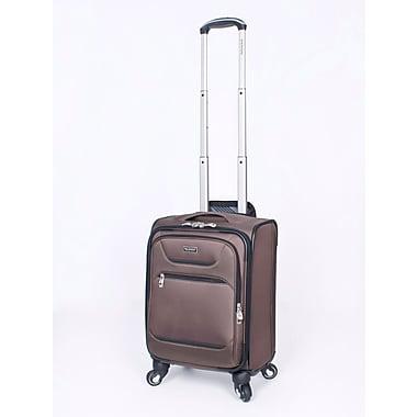Ricardo Beverly Hills Santa Barbara Expandable 4-Wheel Spinner Luggages, Cappuccino