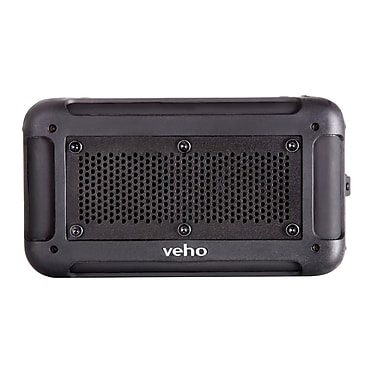 Veho VXS-001-BLK 360Deg Vecto Wireless Water Resistant Speaker, Black