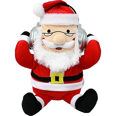 iTalk Adorable Santa Claus Portable Plush Bluetooth Communication Speaker