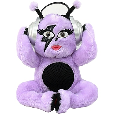 iTalk Adorable Purple Monster Portable Plush Bluetooth Communication Speaker