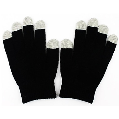 Exian Touch Screen Gloves, Black