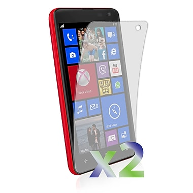 Exian Screen Protector for Lumia 625, Clear, 2-Piece
