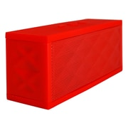"Exian Bluetooth Speaker, Rectangular, 6"" X 1.75"" X 2.25""H, Red"