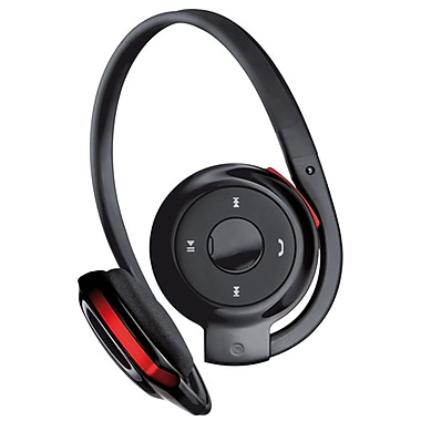 Exian Bluetooth Headset, Black/Red