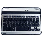 "Exian Bluetooth Keyboard 7"" for Cellphones & Tablet, Silver/Black"