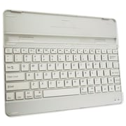 "Exian Bluetooth Keyboard 9.7"" for Cellphones & Tablet, White, English"