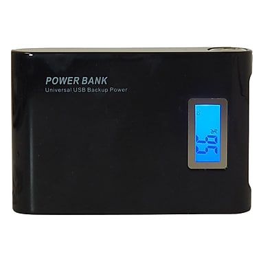 Exian Power Bank 8800mAh with 2 USB Ports, Black