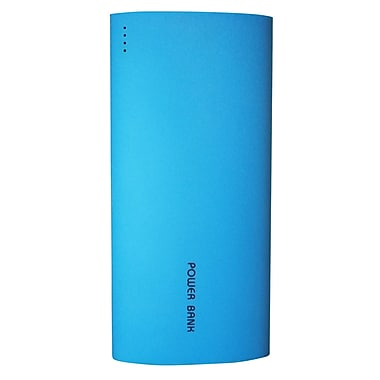 Exian Power Bank, 13200mAh with 2 USB Ports, Blue