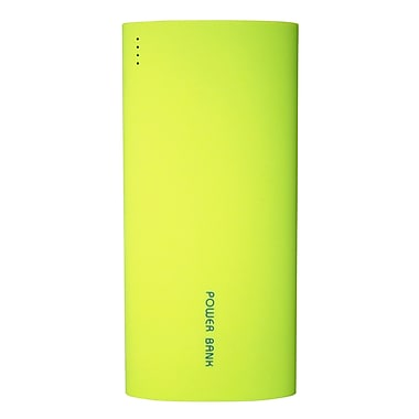 Exian Power Bank, 13200mAh with 2 USB Ports, Green