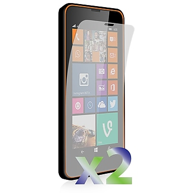 Exian Screen Protector for Lumia 635, Clear, 2-Piece