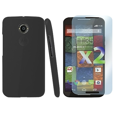 Exian Case for MOTO X2, Transparent Grey