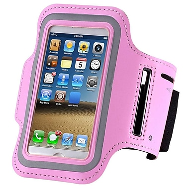 Exian Arm Band for iPhone 5/5S/5C, Pink