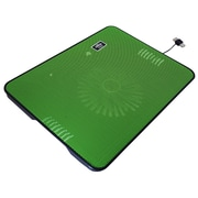 "Exian Cooling Fan, 13"" x 10"", Green"