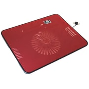 "Exian Cooling Fan, 13"" x 10"", Red"