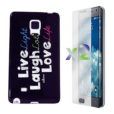 Exian Case for Note Edge, Live/Laugh/Love