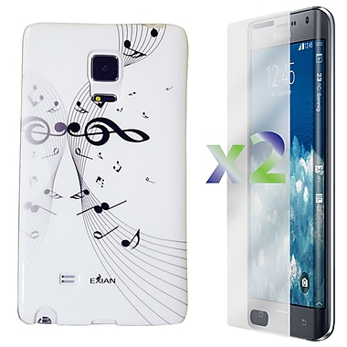 Exian Case for Note Edge Musical Notes, White