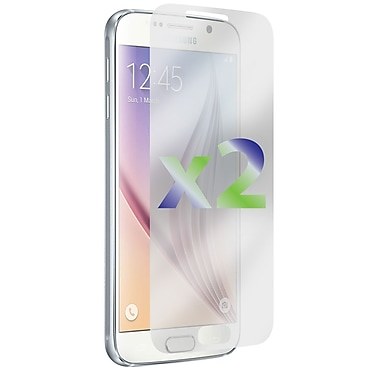 Exian Screen Protector for Galaxy S6, Anti Glare, 2 Pieces