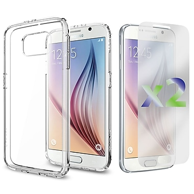 Exian Case for Galaxy S6, Transparent Case, Clear