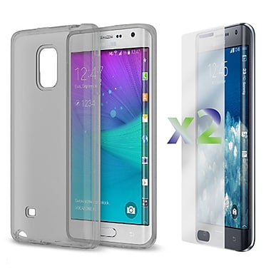 Exian Case for Note Edge Transparent Case, Grey