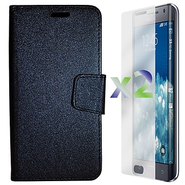 Exian Case for Note Edge Wallet, Black