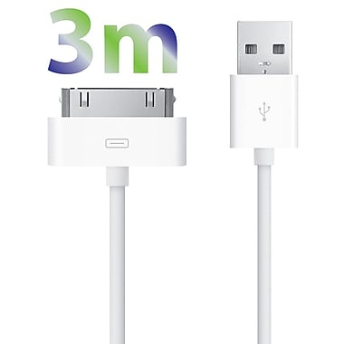 Exian 30PIN USB Cable, 3 Meter, White