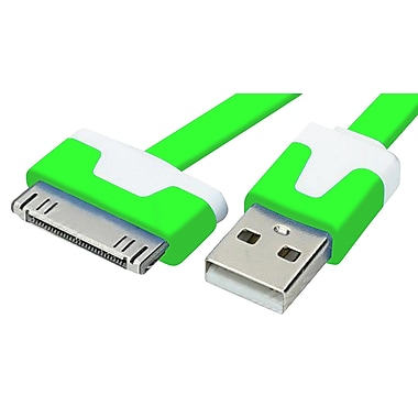 Exian 30PIN Flat USB Cable, 1 Meter, Green