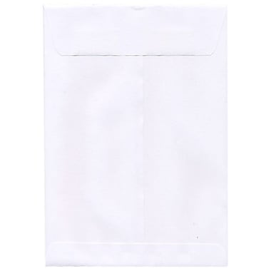 JAM Paper® 10 x 15 Open End Envelopes, White, 50/Pack (1623200g)