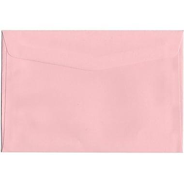 JAM Paper – Enveloppes format livret, 6 x 9 po, rose bébé, 1000/paquet (327912961)