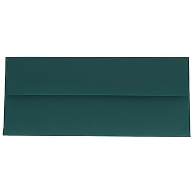 JAM Paper® #10 Business Envelopes, 4 1/8 x 9.5, Teal Blue, 100/Pack (63924024g)