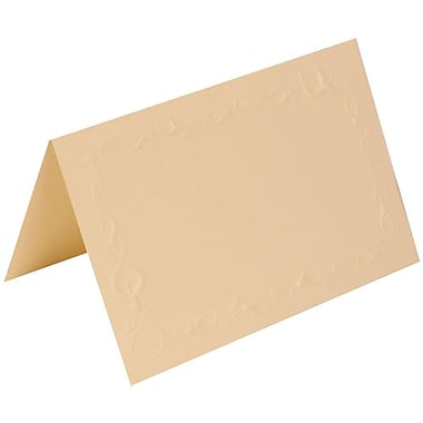 JAM Paper® Placecards, 2.75 x 4.25, Ivory Lily Place Cards, 100/Pack (312625287)