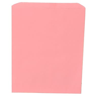 JAM Paper® Merchandise Bags, Medium, 8.5 x 11, Baby Pink, 1000/Pack (342126824)