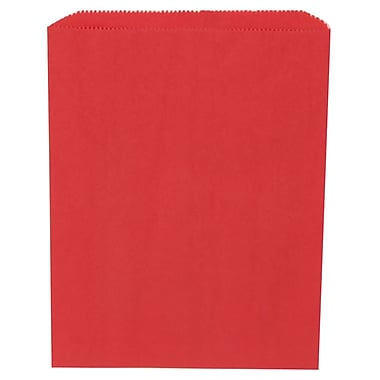 JAM Paper® Merchandise Bags, Medium, 8.5 x 11, Red, 1000/Pack (342126832)