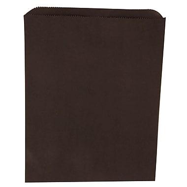 JAM Paper® Merchandise Bags, Medium, 8.5 x 11, Black, 1000/Pack (342126860)