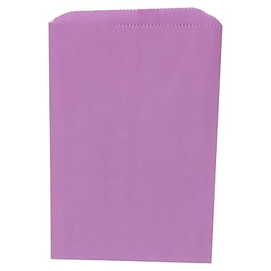 JAM Paper® Merchandise Bags, Small, 6.25 x 9.25, Violet Purple, 1000/Pack (342126862)