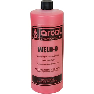 AL WELD-O QT SIZE ALUM.CLEANER, 866-1050, Welding supply type - Cleaner
