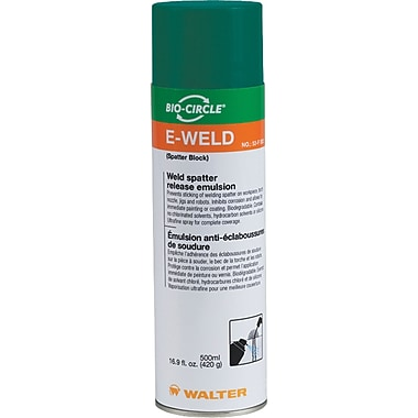 E-Weld 3 Weld Spatter Release Solutions, AA903, 500 ML, 5/Pack