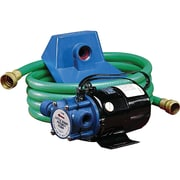 Non-Submersible, Self-Priming Plated Brass Transfer Pumps - Pump Only, DC196