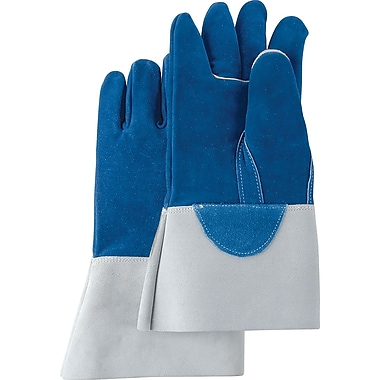 Heat-Resistant Leather Gloves, SA514, Split Leather, 2/Pack